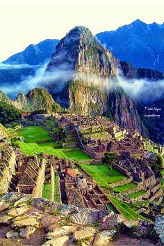 Nature paints the most beautiful masterpieces: Machu Pichu