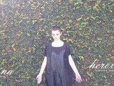 vestido corvo 67 x 118cm algodão e tinta de tecido alexandre linhares | heroína – alexandre linhares