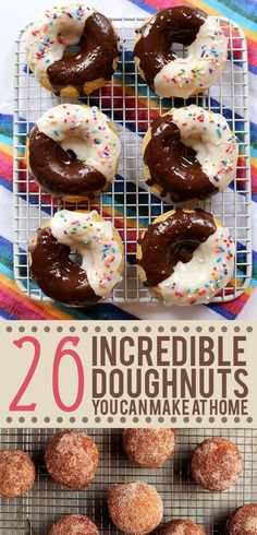 Doughnut recipes