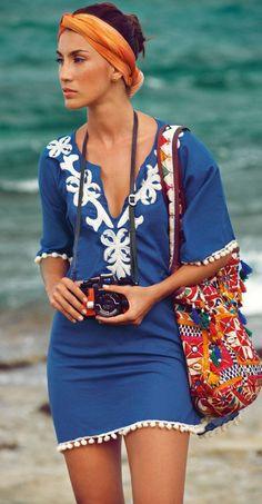 9c5c6be13 Inspiração  acessórios para usar na praia - Claudia BartelleClaudia Bartelle  Moda Chique