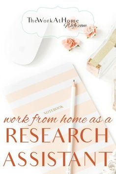 Great opportunity to work from home as an internet research assistant
