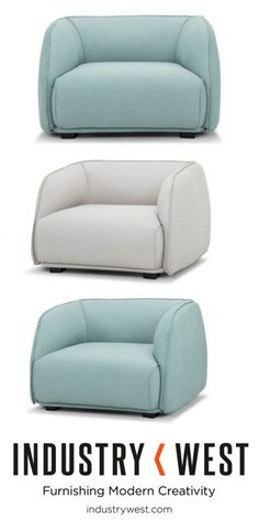 The Cloud Lounge Chair: New to Industry West and 20% off with code LABORDAY20 at checkout!