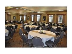 Fall wedding at the Leavenworth Riverfront Community Center.