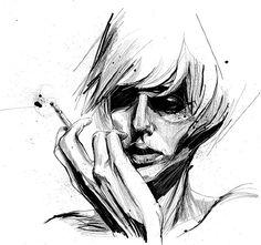 Amazing Figurative Illustrations by Ben Tour  ben_tour_figurative_portrait_illustration6