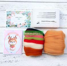 Where to buy Needle Felting Kits (6) Needle Felting Supplies, Starter Kit, Wool Felt, Make It Yourself, Dolls, Stuff To Buy, Baby Dolls, Puppet, Doll