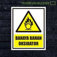 WSKPC164 Sticker K3 Safety Sign Warning Sign Bahay