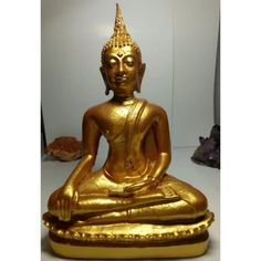 """เก็บเงินปลายทาง  phra mongpol พระพุทธรูป """" ปางสะดุ้งมาร """" องค์สีทอง  ราคาเพียง  1,500 บาท  เท่านั้น คุณสมบัติ มีดังนี้ พระพุทธรูป ปางสะดุ้งมาร  องค์สีทอง  หล่อพระด้วยมวลสารเหล็กน้ำพี้"""
