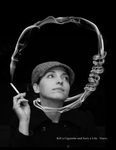 ♂ Creative Advertisement Campaigns Ideas - Anti-smoking advertising design
