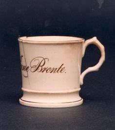 Emily Bronte's christening mug.