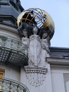 Top 7 Things to do in Vienna Austria Art Nouveau Architecture, Architecture Details, Tattoo Word, Vienna Secession, Art Nouveau Design, Design Art, Easy Art Projects, Beautiful Buildings, Disney Art