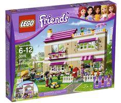 Lego Friends Girls Olivia's House 3315 Tree Sealed Kitty Mom Anna Dad Peter New  #LEGO