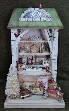 Winter Woodland Market Stall Kit - Click Image to Close