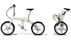 Innovative folding bike