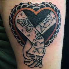 #tattoo by @bertz_tattooing #tattoos #tattooart #tradition #traditional #colortattoo