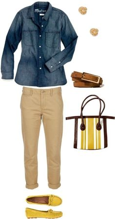Outfit Inspiration: A Casual Outfit Idea for Women Over 50 and 60 by angelita