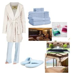 """""""Day at the Spa"""" by snazzydiva2002 on Polyvore featuring art"""