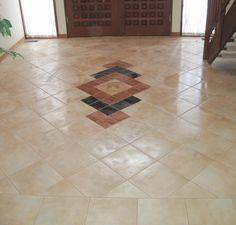 floor tiles design for entryway - Google Search