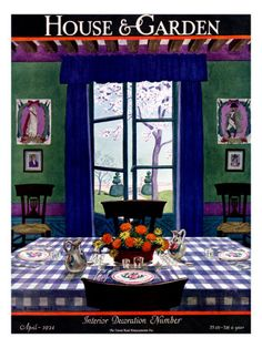 1920s House & Garden Covers Poster at the Condé Nast Collection