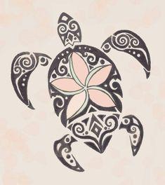 ... drawn tribal turtle tattoo to put on my calf mom daughter tattoo