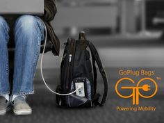 GoPlug: This Bag Recharges Your Gadgets While You Are On The Move?ref=pinp nn We live in a constantly connected world. Through our computers, tablets and smartphones, we are always online. These gadgets are becoming an integral part our lives and we carry them all over with us. But, these tools need stay juiced up to help us stay connected. It can be a near-traumatic...