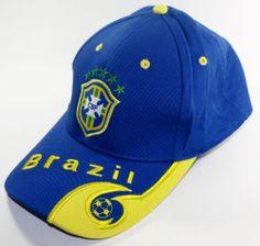 ff40d172c99 BRAZIL SOCCER CAP BLUE SPORT FOOTBALL FÚTBOL FUTEBOL BRASIL boné   soccercaps  soccerhats  fifaworldcup  football  soccer  worldcup2014   brazil  brasil   ...