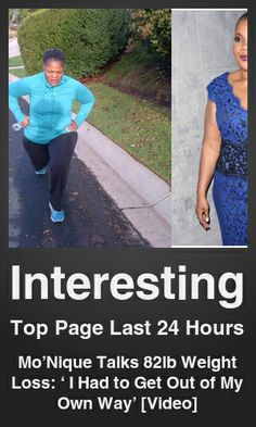 Top Interesting link on telezkope.com. With a score of 2430. --- Mo'Nique Talks 82lb Weight Loss: ' I Had to Get Out of My Own Way' [Video]. --- #telezkopeinteresting --- Brought to you by telezkope.com - socially ranked goodness