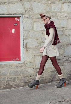 Non-binary fashion by Elliott Alexzander.