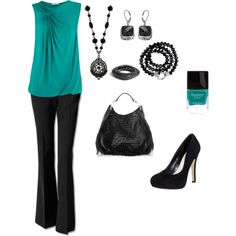 """""""Twist Detail Shell Top"""" by mmessenger on Polyvore"""