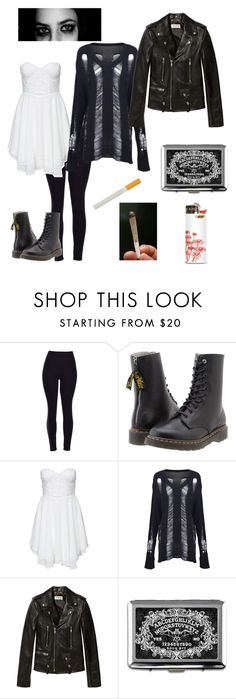 """""""Effy Stonem Inspired Look"""" by durpee-icecream ❤ liked on Polyvore featuring Y's by Yohji Yamamoto, Te Amo, Yves Saint Laurent, women's clothing, women, female, woman, misses and juniors"""