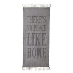 "Bloomingville - ""There's No Place Like Home"" Teppich - 60x120cm"