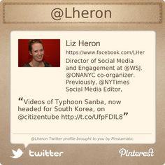 @Lheron's Twitter profile courtesy of @Pinstamatic (http://pinstamatic.com)