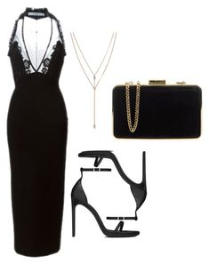 """""""Untitled #199"""" by getdressedboston on Polyvore featuring Givenchy, Yves Saint Laurent, MICHAEL Michael Kors and Vince Camuto"""