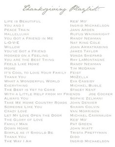 Thanksgiving Playlist - Coordinately Yours by Julie Blanner entertaining & design that celebrates life