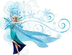 Nicest Frozen/Elsa clipart I've seen