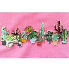 Happy Mother's Day to all the Mamas out there! we're loving @deerseason87 bloomin' pin collection!! Pin game on another level amazing!Includes our little cactus pin. Thanks for sharing!! If u have one of our cactus pins do tag us ;) #pin #regram #enamelpin #pingame #illustration #collectables #botanics #plantlife #cactuslove #thatsdarling #geometrics #vsco #vscocam #mothersday #cactuspin #cactusclub by scouteditions - Pinned by @FancyAsMilly on instagram -