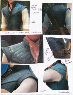 Is Eugene Fitzherbert's (AKA Flynn Rider) vest steampunk or what. LMF