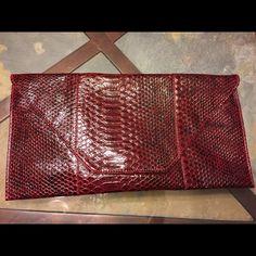 993f8d8581fb Clutch bag Burgundy clutch bag with snake print. Accessories Snake Print