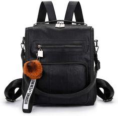 Mynos Women Backpack Purse Leather Handbag Ladies Rucksack Shoulder Bag (Gray): Amazon.co.uk: Luggage Leather Backpack Purse, Leather Purses, Leather Handbags, Backpacks, Shoulder Bag, Gray, Amazon, Women, Leather Totes