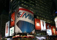 RE/MAX... by night