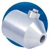 Een luchtkanon functioneert op identieke wijze als een luchtmes, met dit verschil dat er een krachtige kegelvormige luchtstroom wordt gegenereerd.  De Fiktech luchtmessen en luchtkanonnen zijn leverbaar zowel in Aluminium als RVS.