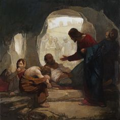 J. Kirk Richards - Christ Among the Lepers from Latter-Day Home