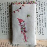 whimsical drawings, embroideries and embroidery... by lilipopo at glass mountain on Folksy