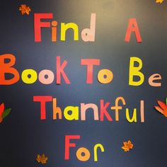 Thank you teen volunteers for transforming the teen room!  Happy November!