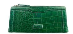 This gorgeous little make-up bag in emerald Polished Croc leather is designed to slip into a drawer at work. Comes in a black OSPREY LONDON presentation box - a great gift. Osprey London, Heavenly, Crocs, Drawer, Emerald, Zip Around Wallet, Great Gifts, Presentation, Handbags