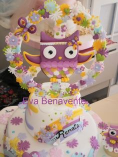 Owl hippie cake Cake Cookies, Cupcake Cakes, Hippie Cake, Gateau Cake, Teen Cakes, Beautiful Cakes, Amazing Cakes, Love Cake, Creative Cakes