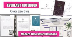 Ever-Last Notebook is a modern timed smart notebook that can be used to take notes and make easy backups to the cloud services.