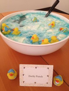 Ducky Punch! What an adorable idea!