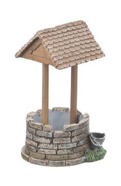 Fairy-Garden-Country-MINIATURE-WISHING-WELL-Mini-Figurine-Planter-Statue-Decor