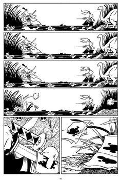 Usagi Yojimbo: The Special Edition Comic Book Characters, Comic Books, Dbz Manga, Usagi Yojimbo, Samurai Artwork, Sword And Sorcery, Attack On Titan Levi, Comic Page, Manga Drawing