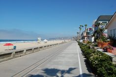 San Diego, Mission Beach - lots of great memories made here! We used to roller skate on the boardwalk - back when it was called roller skating! :)